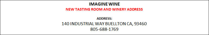 Imagine Wine New address