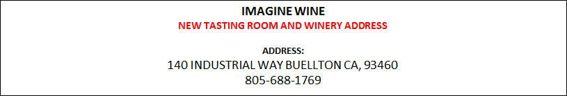 Imagine Wine New address